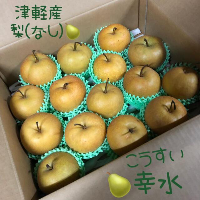 説明文必読 梨 幸水 青森県平川市産 約15個・5kg 多少傷あり含む 食品/飲料/酒の食品(フルーツ)の商品写真