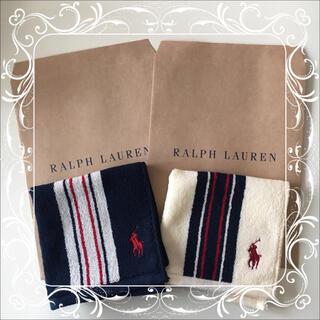 ラルフローレン(Ralph Lauren)のラルフローレン ミニタオル ハンカチ 2枚セット ⑯(ハンカチ)