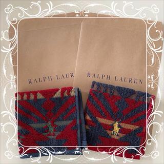 ラルフローレン(Ralph Lauren)のラルフローレン ミニタオル ハンカチ 2枚セット ⑪(ハンカチ)