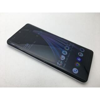 シャープ(SHARP)の新品同様 SIMフリー au AQUOS zero2 SHV47ホワイト242(スマートフォン本体)