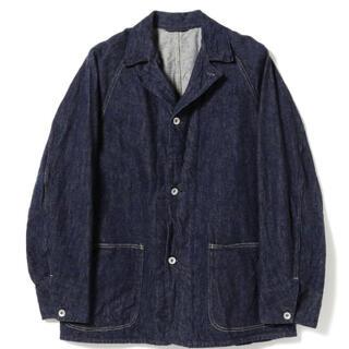 コモリ(COMOLI)のcomoli 4 denim work jacket カバーオール(カバーオール)