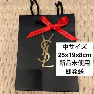 イヴサンローランボーテ(Yves Saint Laurent Beaute)のYSL イヴサンローラン ショッパー  ショップ袋 中サイズ リボン付き R(ショップ袋)