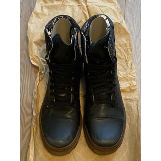 ディーゼル(DIESEL)のDIESEL ディーゼル レザーブーツ 26.5cm(ブーツ)