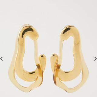 スライ(SLY)のSLY❤︎ METAL BLENDED CLEAR P/EARRINGS(ピアス)