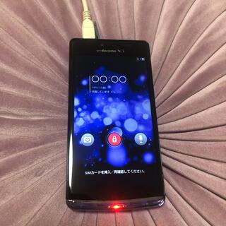 エヌティティドコモ(NTTdocomo)のAQUOS PHONE EX SH-04E(スマートフォン本体)