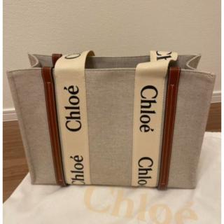 Chloe「woody」トートバッグ