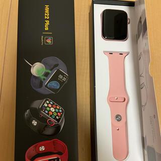 スマートウォッチ hw22plus ピンク