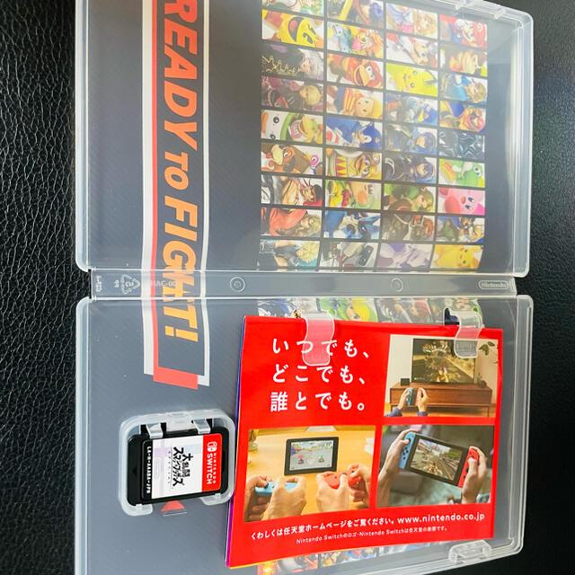 Nintendo Switch(ニンテンドースイッチ)の大乱闘スマッシュブラザーズ Special Switch用ソフト エンタメ/ホビーのゲームソフト/ゲーム機本体(家庭用ゲームソフト)の商品写真