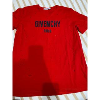 GIVENCHY ダメージ Tシャツ(Tシャツ/カットソー(半袖/袖なし))