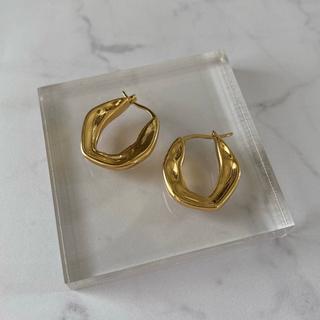 DEUXIEME CLASSE - Nuance round earrings