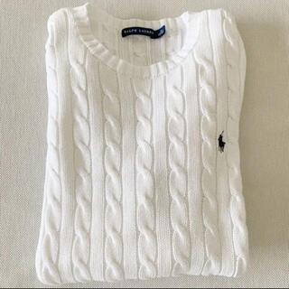 ラルフローレン(Ralph Lauren)の《美品》ラルフローレン レディース ケーブル編み ニット セーター(ニット/セーター)