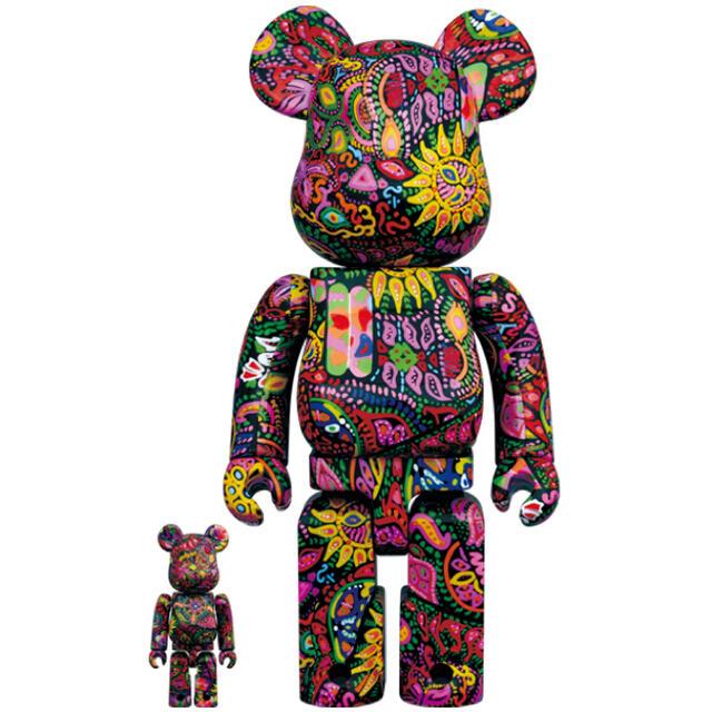 MEDICOM TOY(メディコムトイ)のPsychedelic Paisley 100% & 400% エンタメ/ホビーのおもちゃ/ぬいぐるみ(キャラクターグッズ)の商品写真