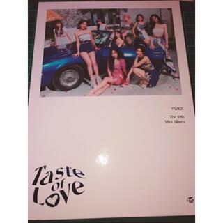 ウェストトゥワイス(Waste(twice))のTWICE taste of love(in love ver)(アイドルグッズ)