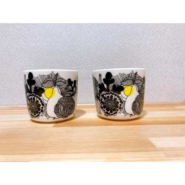 marimekko(マリメッコ)のマリメッコ シイルトラプータルハ ラテマグセット インテリア/住まい/日用品のキッチン/食器(グラス/カップ)の商品写真