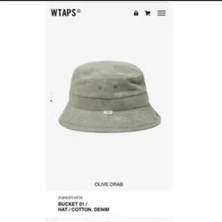 ダブルタップス(W)taps)の【M】wtaps BUCKET 01 / HAT / COTTON. DENIM(ハット)