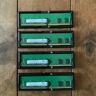 DDR4 メモリ 16GB (4GB × 4枚)