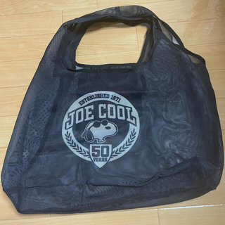 GLOW9月号付録 JOE COOL 50周年 スヌーピー 軽量マルシェバッグ