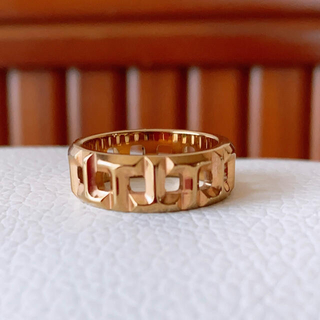 アパルトモンドゥーズィエムクラス(L'Appartement DEUXIEME CLASSE)のTモチーフ ファッションリング ピンクゴールド (リング(指輪))