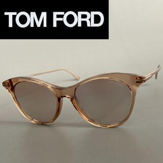 TOM FORD - サングラス トムフォード ブラウン ゴールド ミラーレンズ フルリム スケルトン