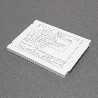 エヌティティドコモ(NTTdocomo)のNTTドコモ 純正 電池パック バッテリ L02 L-03A充電残量確認済み中古(バッテリー/充電器)