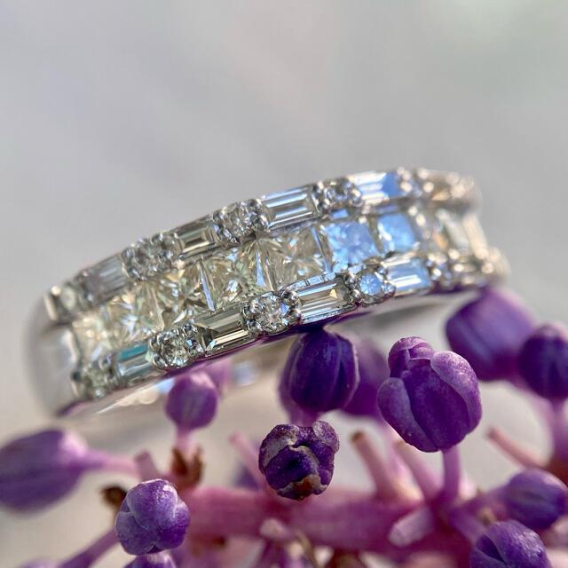pt900    煌めき良い ダイヤモンド 1.00ct  リング レディースのアクセサリー(リング(指輪))の商品写真