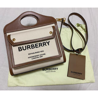 BURBERRY - BURBERRY  バーバリー ポケットバッグ