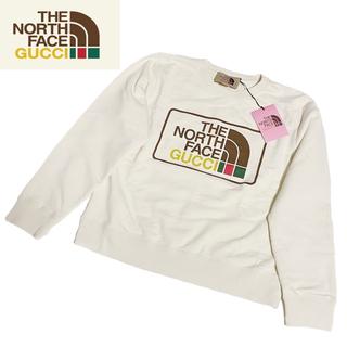 グッチ(Gucci)の【限定品】Gucci × North Face スウェット Mサイズ(スウェット)