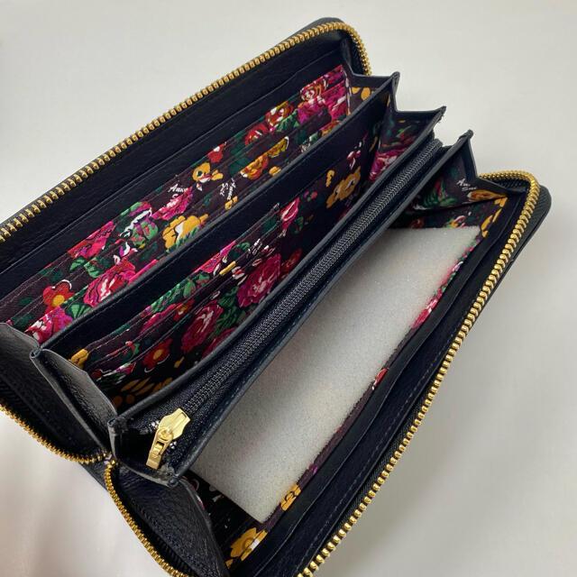 ANNA SUI(アナスイ)の未使用☺︎ANNA SUI アナスイ 長財布 スイハート ブラック ジップ レディースのファッション小物(財布)の商品写真