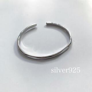 silver925バングルブレスレット