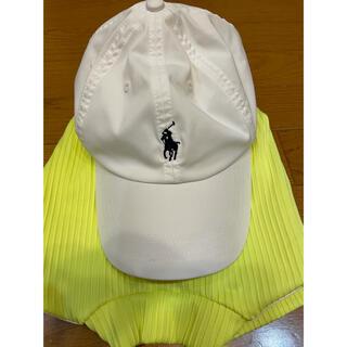 ラルフローレン(Ralph Lauren)のポロラルフローレン ラルフローレン ゴルフ 白 キャップ 紺(キャップ)