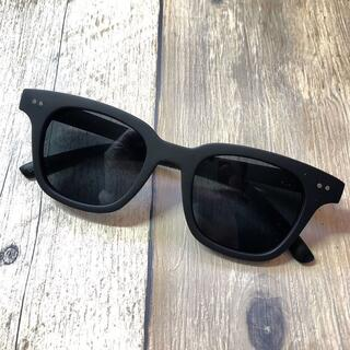 マットブラック/ブラックスモーク ウェリントン サングラス ボストン 眼鏡
