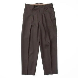 stein EX WIDE TAPERED TROUSERS