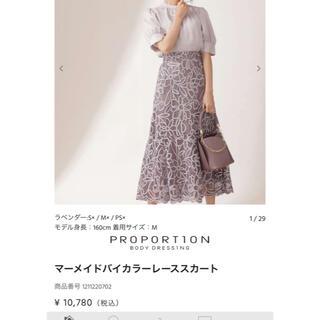 PROPORTION BODY DRESSING - ロングスカート