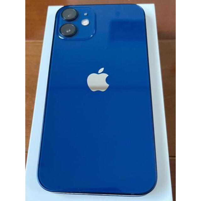 iPhone(アイフォーン)のiPhone 12 mini 64GB ブルー Simフリー スマホ/家電/カメラのスマートフォン/携帯電話(スマートフォン本体)の商品写真