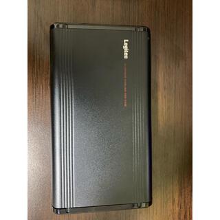 アルミボディ3.5インチ外付けHDDケース500gb HDD