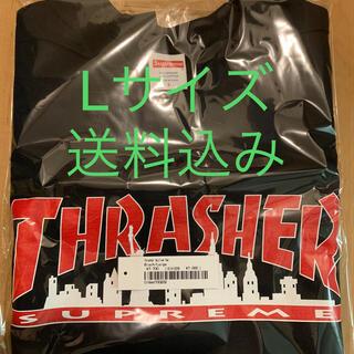 シュプリーム(Supreme)のSupreme®/Thrasher® Skyline Tee 黒 L(Tシャツ/カットソー(半袖/袖なし))