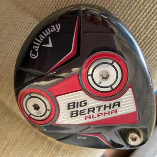 Callaway Golf - キャロウェイ ビッグバーサ 3w フェアウェイウッド S メンズ