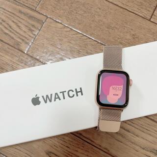 Apple Watch - Apple Watch SE 40mm ゴールド GPSモデル
