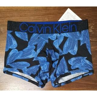 カルバンクライン(Calvin Klein)のカルバンクライン 新品 メンズ ボクサーパンツ(ボタニカル/ブルーS)(ボクサーパンツ)