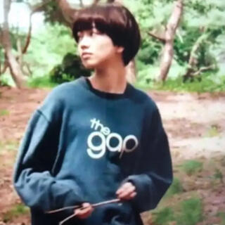 ギャップ(GAP)の小松菜奈 着用 OLD GAP オールド ギャップ スウェット トレーナー ロゴ(スウェット)
