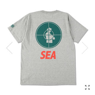 シー(SEA)のPUBLIC ENEMY×WDS PESEA Tシャツ ウィンダンシー(Tシャツ/カットソー(半袖/袖なし))
