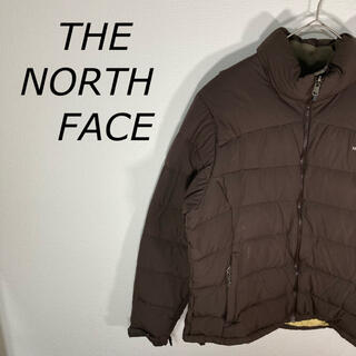ザノースフェイス(THE NORTH FACE)のTHE NORTH FACE ダウンジャケット ブラウン 人気デザイン(ダウンジャケット)