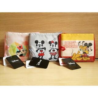 ミッキーマウス(ミッキーマウス)の新品Disney*エコバッグ*未使用ミッキー*ミニー送料無料レディース(エコバッグ)