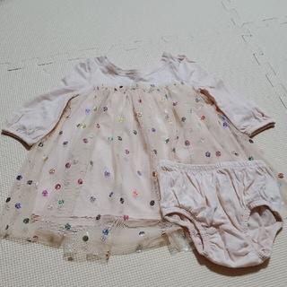 ベビーギャップ(babyGAP)の70cm チュニック(Tシャツ)