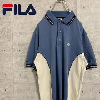 フィラ(FILA)のフィラ FILA ポロシャツ 半袖 古着 90s ワンポイン刺繍ロゴ Sサイズ(ポロシャツ)