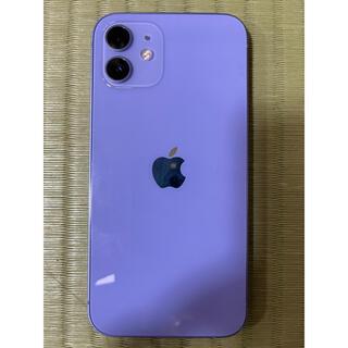 Apple - iphone12 パープル 128GB Apple Store購入SIMフリー