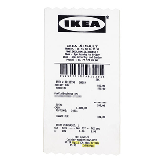 イケア(IKEA)の新品未使用 イケア×ヴァージル コラボ限定コレクション「マルケラッド」ラグ(ラグ)