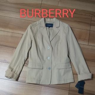 バーバリー(BURBERRY)の値下げ!【新品】バーバリー テーラードジャケット(テーラードジャケット)
