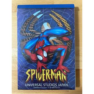 ユニバーサルスタジオジャパン(USJ)のUSJスパイダーマン メモ帳(ノート/メモ帳/ふせん)