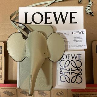LOEWE - Loewe ロエベ iPhone X エレファントスマホケース セージ
